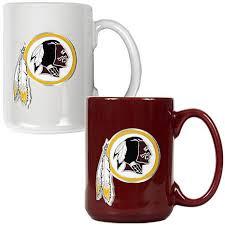 washington redskins 2pc coffee mug set 7570120 hsn