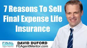 Senior Expense Insurance Program by 7 Reasons For Selling Expense Insurance