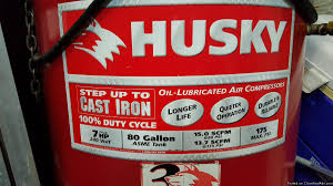 husky air compressor 60 gallon ac air conditioner and heating