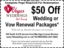 vegas weddings vegas wedding chapel discount coupon las vegas leisure guide