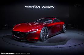 mazda rx mazda u0027s rotary dream the rx vision concept revealed speedhunters