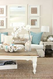 at starfish cottage living room simple modern chic decorating