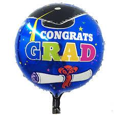 aliexpress buy 18inch congrats grad foil balloon best