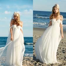 chiffon beach wedding dresses wedding dresses wedding ideas and
