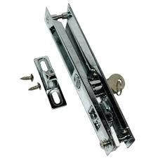 sliding glass door latch replacement sliding glass door locks ace hardware sliding glass door child