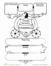 cinderella story map story maps cinderella and worksheets