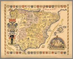 The Map Of Spain by The Story Map Of Spain David Rumsey Historical Map Collection