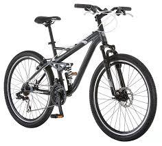 amazon com mongoose detour full suspension bicycle 26 inch