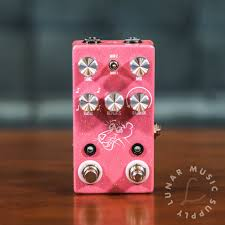 jhs delay jhs pink panther digital delay pedal 650415211838