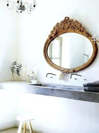 peaceful old fashioned bathroom mirrors vintage frosted glass