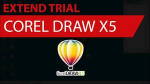 corel draw x5 trial corel draw gratis cara perpanjang trial corel draw x5 youtube