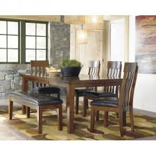 rent to own ashley ralene 6 piece dining room set rent one