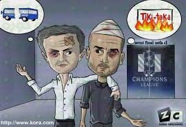 Mourinho Meme - mourinho and guardiola trolled fansfoot you ll never laugh alone
