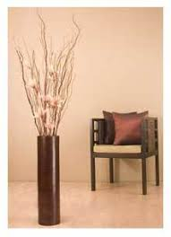 Vase With Twigs How To Use A Large Contemporary Floor Vase In Your Room Decor