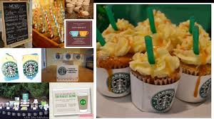 the perfect bridesmaid bridal shower theme starbucks coffee inspired