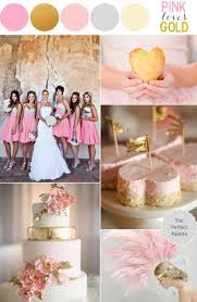 pink white gold wedding pink and gold wedding theme sparkly pink wedding ideas 1919827