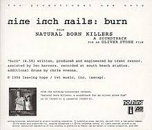 burn nine inch nails song wikipedia