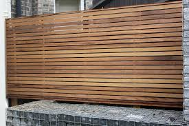 contemporary wooden wall cladding and fencing ideas