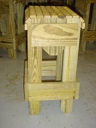 custom made palm trees bar stools