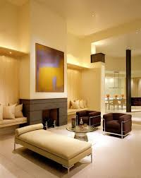 Room And Board Leather Sofa Modern Living Room With Interior Wallpaper By Jamie Herzlinger