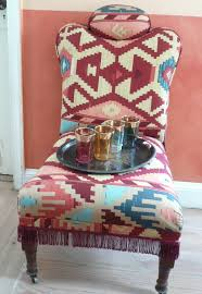 Kilim Armchair Please Change My Upholstery French Designing