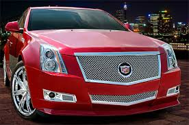 cadillac cts sport coupe cadillac cts coupe heavy mesh grille by e g classics 2011 2012