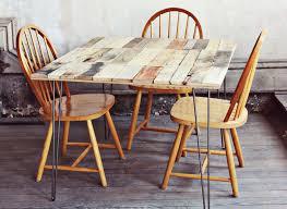 comment faire une table de cuisine comment faire une table de cuisine en palette de bois idée de