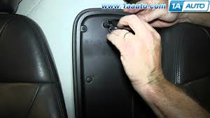 how to install replace center armrest console lid latch 2002 09