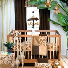 Cheetah Print Crib Bedding Decoration Animal Print Nursery Bedding Image Of Best Leopard