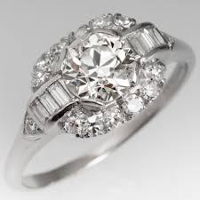 deco engagement rings vintage engagement rings antique rings eragem