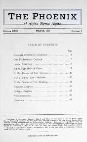 bureau ex utif vol 23 no 3 mar 1937 by alpha sigma alpha sorority issuu