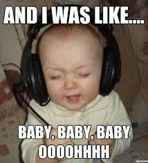 Fist Baby Meme - jammin baby weknowmemes generator