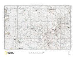 United States Map Missouri by Little Missouri River Drainage Basin Landform Origins Wyoming