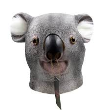 Koala Halloween Costume Aliexpress Buy Creepy Latex Koala Novelty Halloween Costume