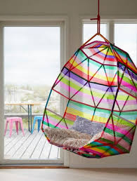 Interior Swing Chair Top Lively Rainbow Decor Ideas That Will Cheer You Up