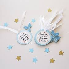 thank you tags personalized birthday favor tags mermaid party gift tags