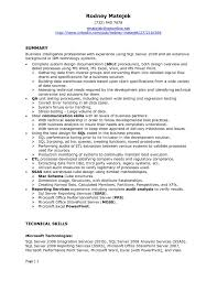 Sample Resume Net Developer by Download Sql Developer Resume Haadyaooverbayresort Com