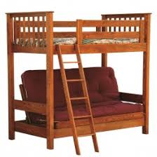 amish made bunk beds sturdy solid wood construction country