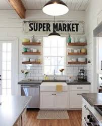 Kitchen Shelving Making An Inherited House Feel Like Home Shelving Farmhouse