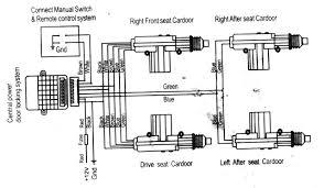 circuit diagram remote central lock 28 images nexon central