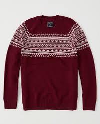 fair isle mens fair isle sweater mens clearance abercrombie