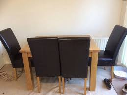 Dfs Dining Tables And Chairs Dfs Dining Table And Chairs In Shoeburyness Essex Gumtree