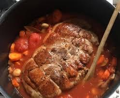 cuisiner rouelle de porc rouelle de porc à la sauce tomate recette de rouelle de porc à la