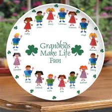 personalized serving plates grandparentsday grandkids make personalized serving
