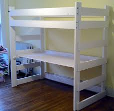 White Wood Loft Bed With Desk by Mid South Bunk Beds Memphis Tn U2013 Bunk Bed Gallery All Wood Bunk Beds