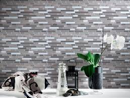 peel and stick wallpaper tiles amazon com art3d peel u0026 stick brick kitchen backsplash self