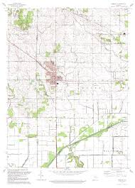 Indiana Map Us Porter County Indiana Genweb Usgs Topographical Maps