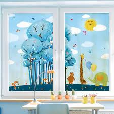 home decor kids home decor decorative glass window film customized size kids room
