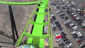 Is There A Six Flags In Pennsylvania Green Lantern On Ride Six Flags Great Adventure Youtube