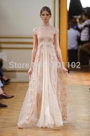 robe de soiree 2015 vintage high neck lace long prom dress long